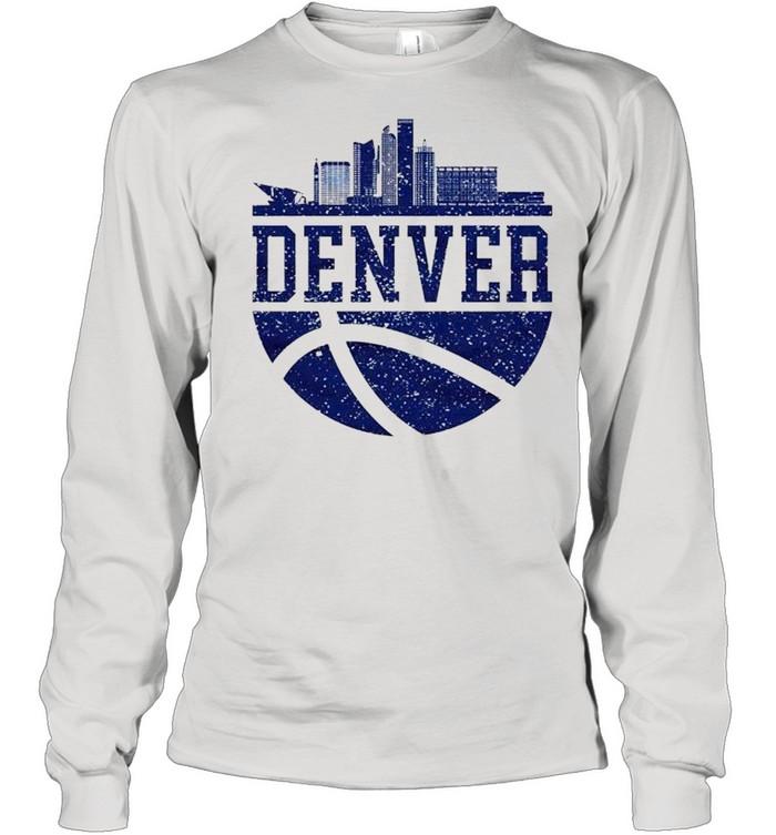Denver Colorado City Ball Colorado Lifestyle shirt Long Sleeved T-shirt