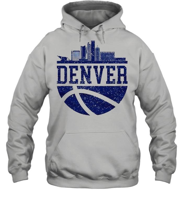Denver Colorado City Ball Colorado Lifestyle shirt Unisex Hoodie
