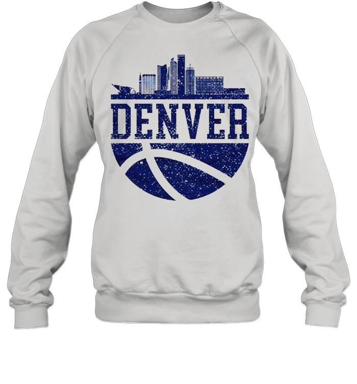Denver Colorado City Ball Colorado Lifestyle shirt Unisex Sweatshirt