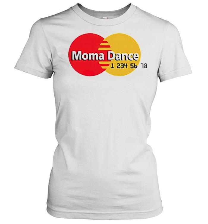 Moma Dance Master Card shirt Classic Women's T-shirt