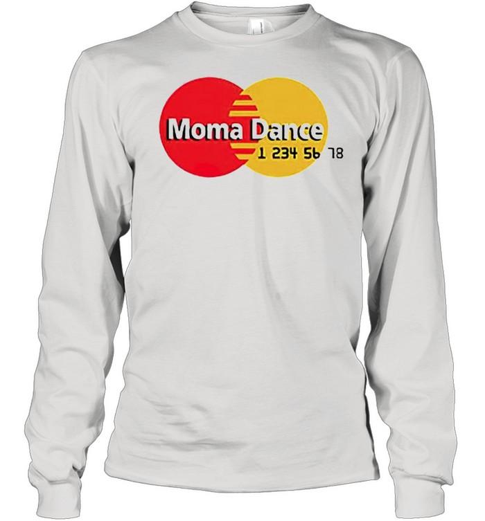 Moma Dance Master Card shirt Long Sleeved T-shirt