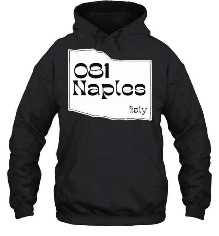 081 NAPLES Italy shirt Unisex Hoodie