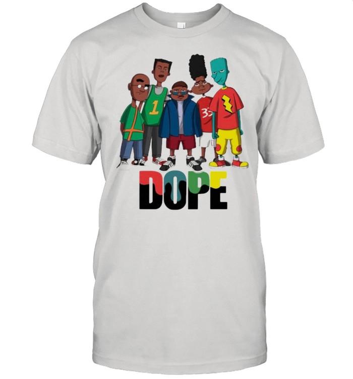 Friend Dope Color  Classic Men's T-shirt