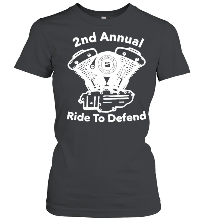 2nd annual ride to defend shirt Classic Women's T-shirt