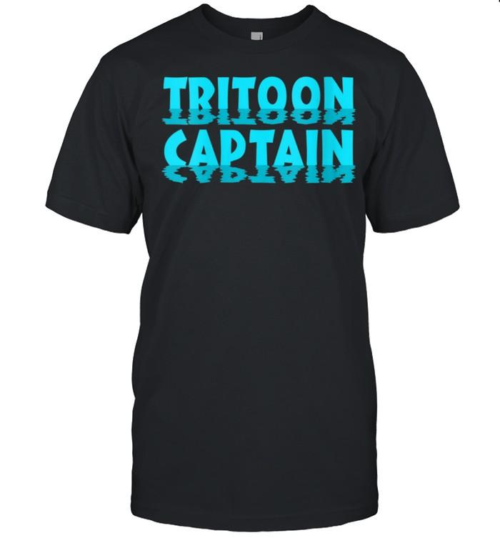 Boating Tritoon Captain Flatboat Life Pontoon shirt Classic Men's T-shirt