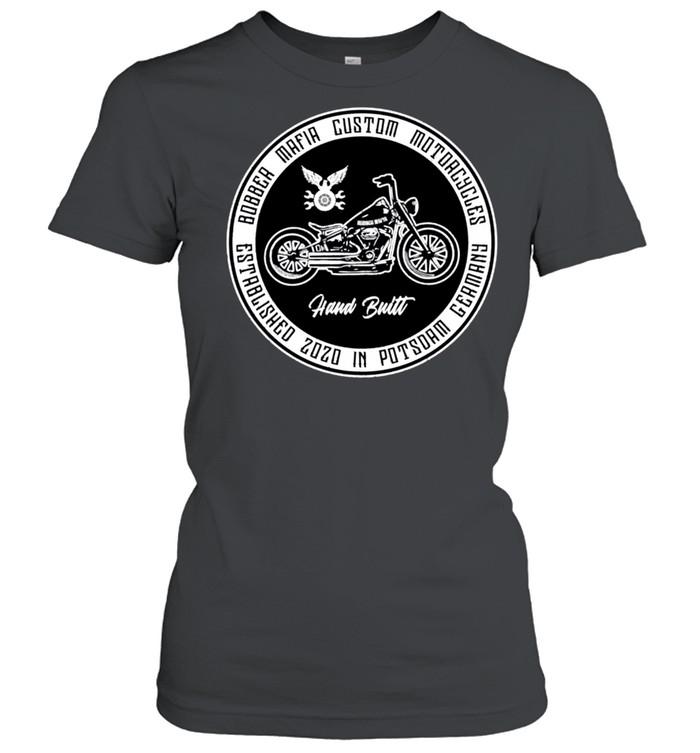 Bobbermafia Custom Motorcycles Langarmshirt shirt Classic Women's T-shirt