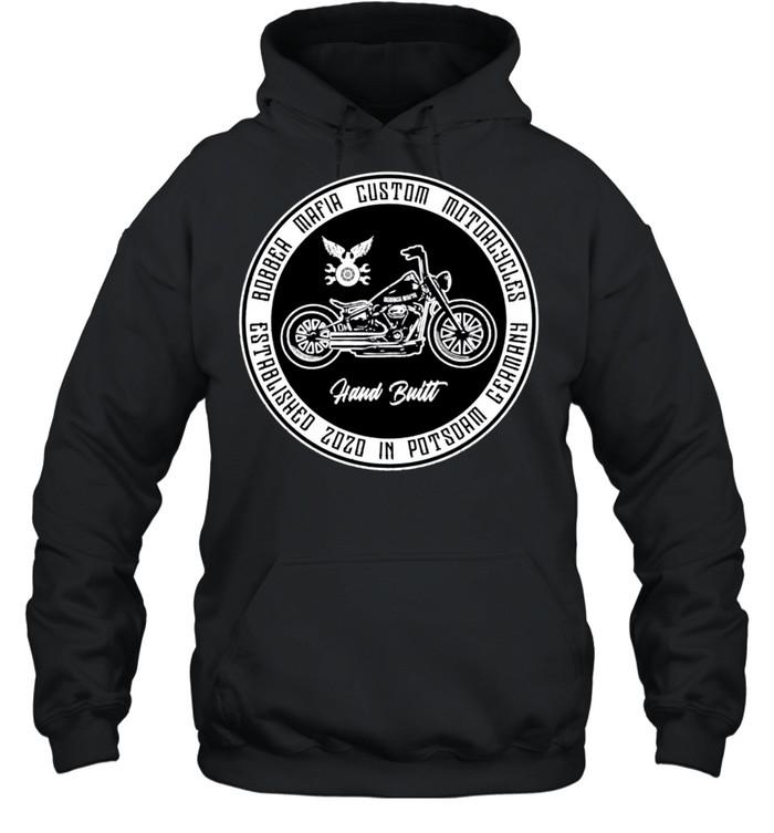 Bobbermafia Custom Motorcycles Langarmshirt shirt Unisex Hoodie