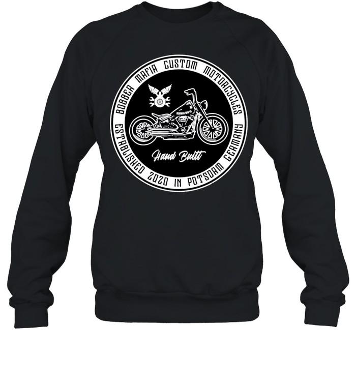Bobbermafia Custom Motorcycles Langarmshirt shirt Unisex Sweatshirt