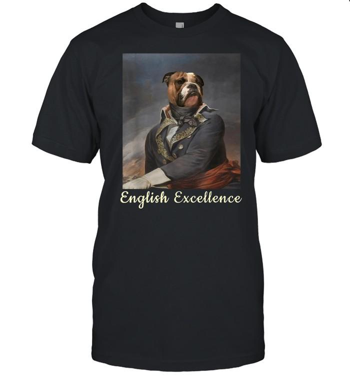 English Bulldog Excellence  Classic Men's T-shirt