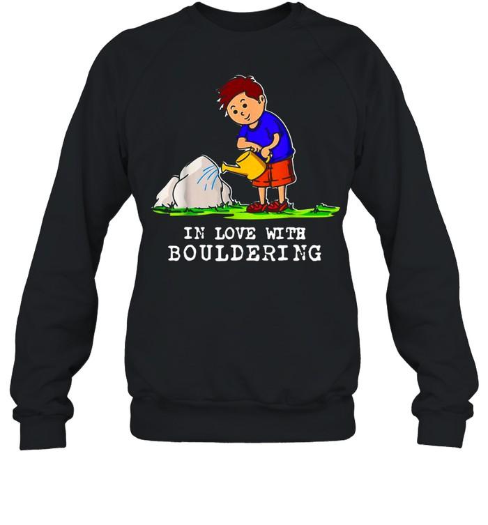 Boulder Bouldering Love Rock Climbing Mounta Unisex Sweatshirt
