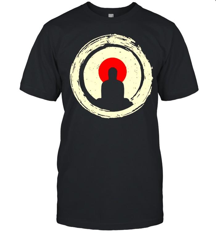 Buddha Meditation  Enso Circle Buddhist Zen  Classic Men's T-shirt