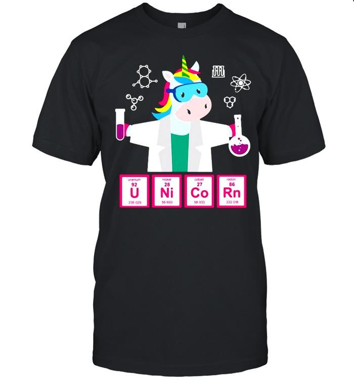 Chemistry H17 Chemistry Unicorn  Classic Men's T-shirt