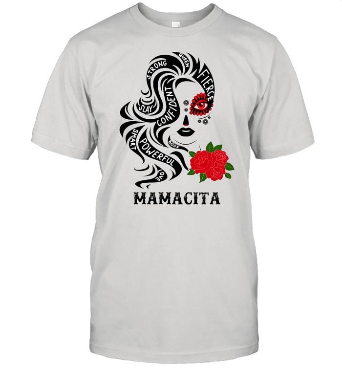 Mamacita Oveen Strong Slay Confident Smart Powerful T-shirt Classic Men's T-shirt