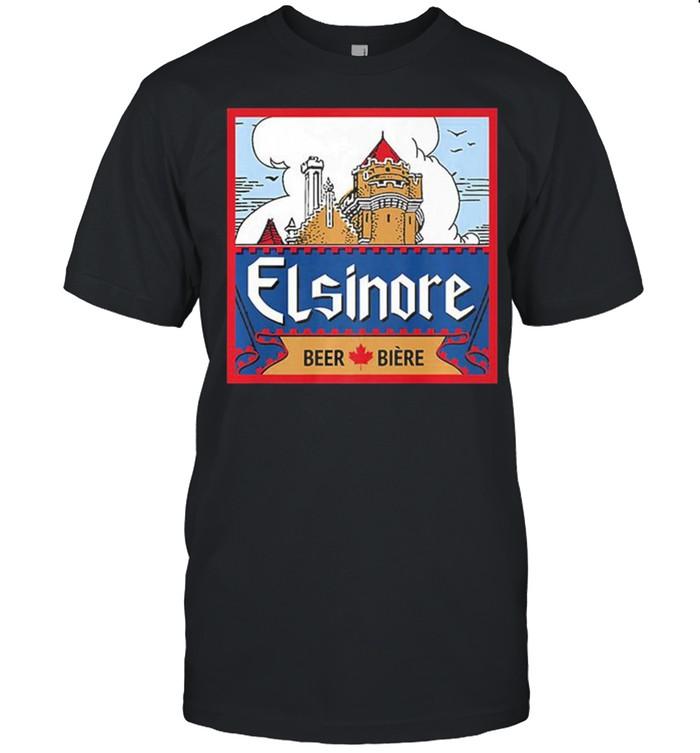 Elsinore craft beer brewing graphic shirt Classic Men's T-shirt