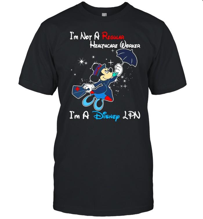 Disney Mickey Mouse I'm Not A Regular LPN I'm A Disney LPN T-shirt Classic Men's T-shirt