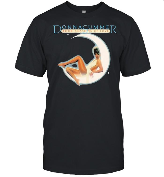 Donna summer four seasons of love moon shirt Classic Men's T-shirt