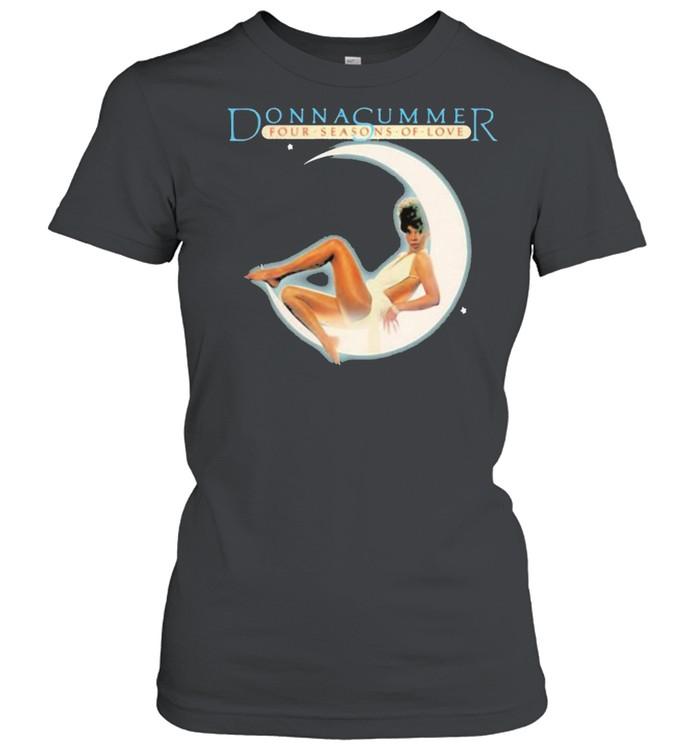 Donna summer four seasons of love moon shirt Classic Women's T-shirt
