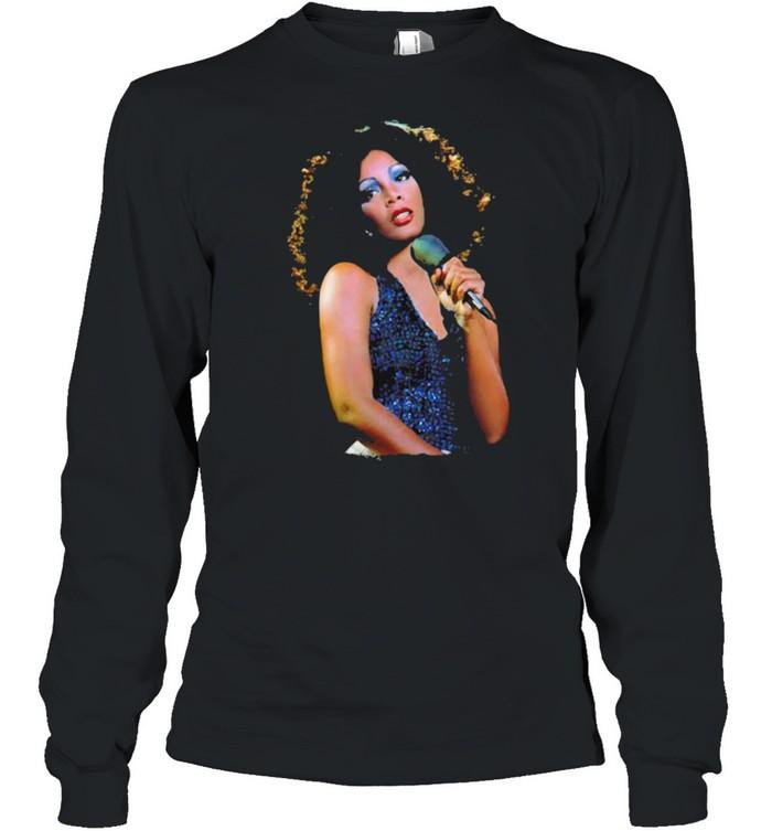 Donna summer music lover shirt Long Sleeved T-shirt