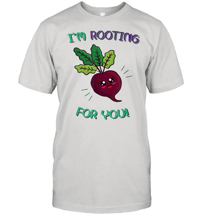 Im rooting for you food pun shirt Classic Men's T-shirt