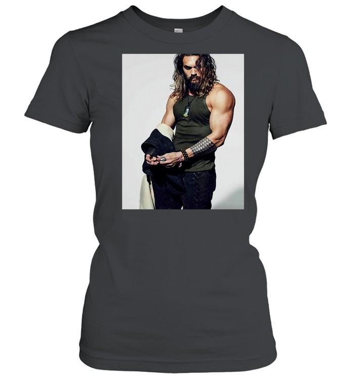 Jasons Momoa T-shirt Classic Women's T-shirt