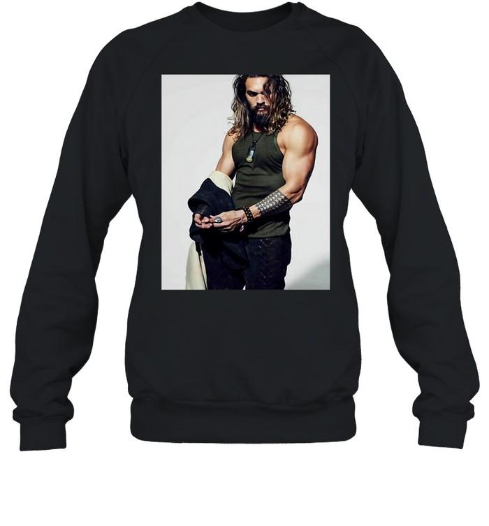 Jasons Momoa T-shirt Unisex Sweatshirt