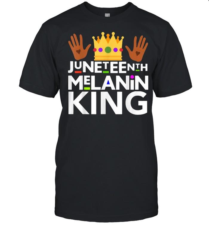 Juneteenth Black Melanin King T- Classic Men's T-shirt