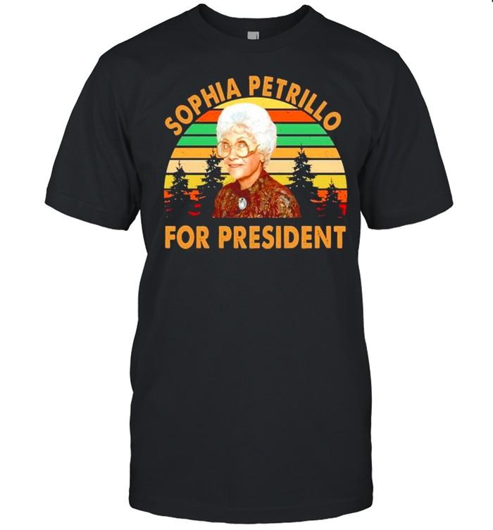 Sophia Petrillo for president vintage shirt Classic Men's T-shirt