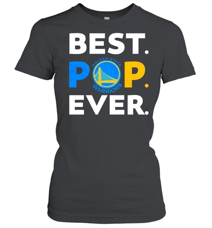NBA Golden State Warriors Best POP Ever shirt Classic Women's T-shirt