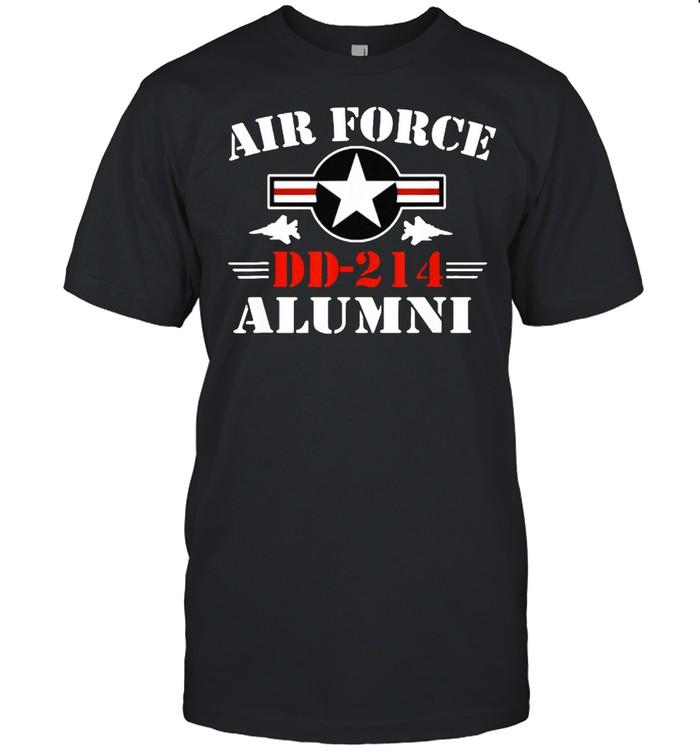 DD214 Air Force Alumni USAF Veteran T- Classic Men's T-shirt