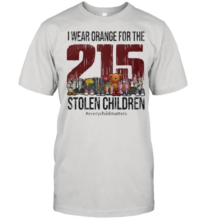 I Wear Orange for the stolen children Everychildmatters215 shirt Classic Men's T-shirt