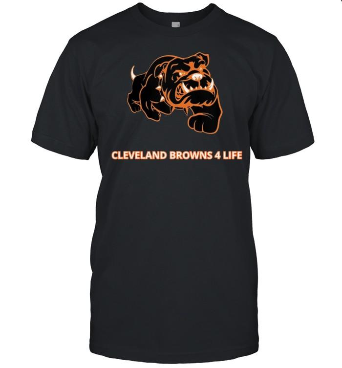 Cleveland Browns 4 Life shirt Classic Men's T-shirt