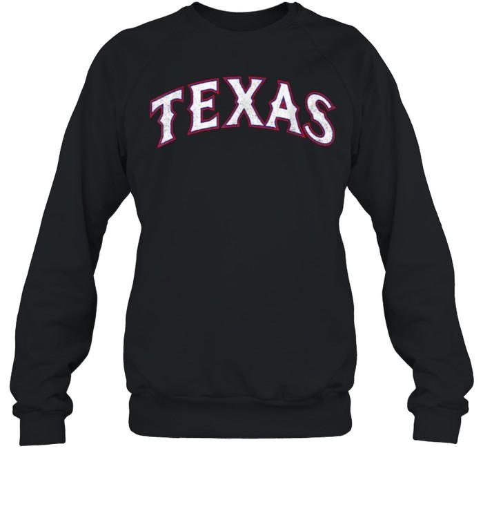 Vintage Texas Baseball T- Unisex Sweatshirt