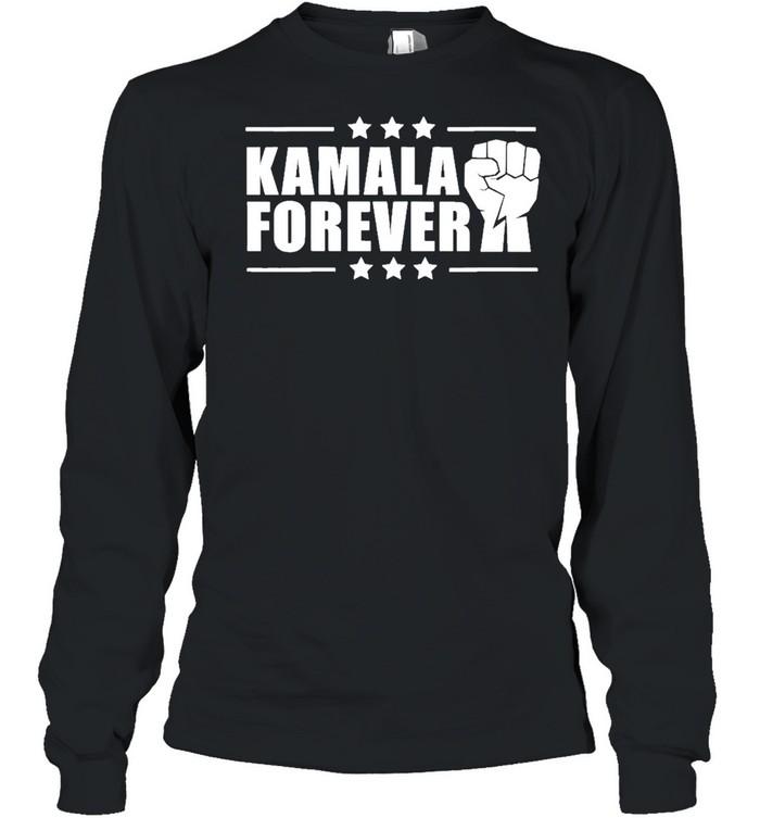 Nice Kamala forever vice president 2020 shirt Long Sleeved T-shirt