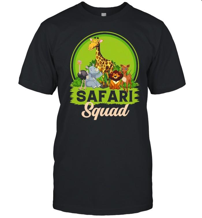 Safari Squad Zoo Animals T-shirt Classic Men's T-shirt