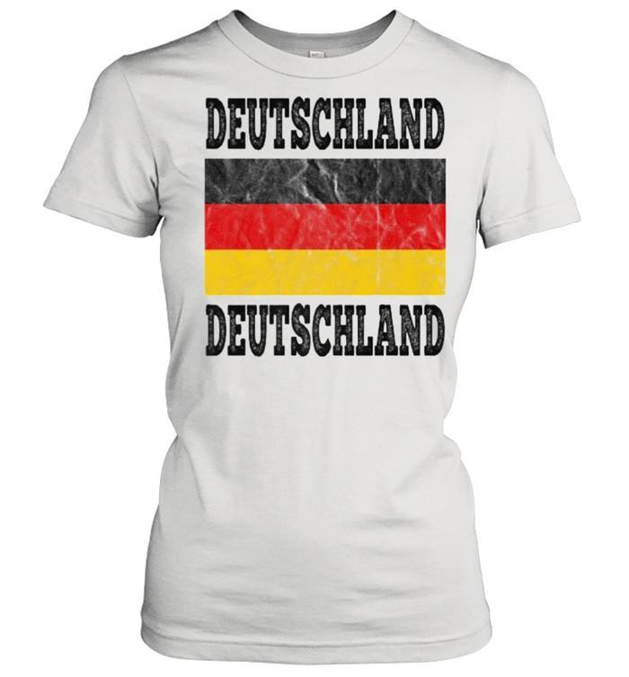 Germany Deutschland German Soccer football fan shirt Classic Women's T-shirt