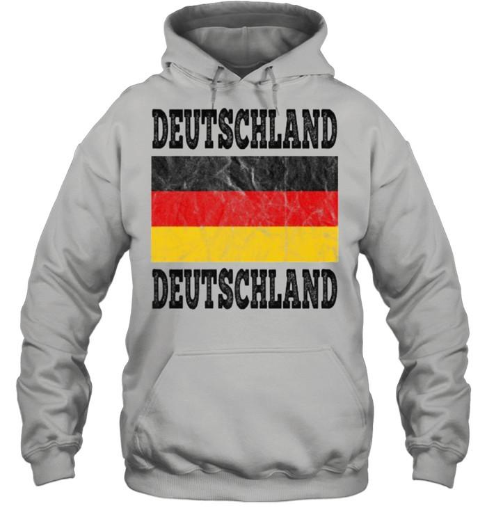 Germany Deutschland German Soccer football fan shirt Unisex Hoodie
