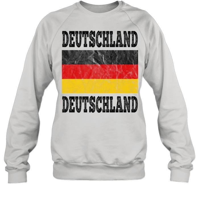 Germany Deutschland German Soccer football fan shirt Unisex Sweatshirt