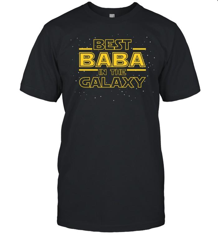 Grandpa Baba , Best Baba in the Galaxy shirt Classic Men's T-shirt
