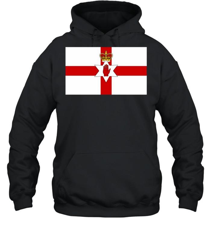 USA Ulster Banner Northern Ireland Flag Ancestry Heritage T-shirt Unisex Hoodie