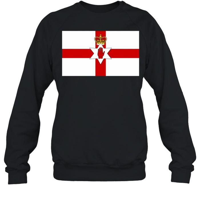 USA Ulster Banner Northern Ireland Flag Ancestry Heritage T-shirt Unisex Sweatshirt