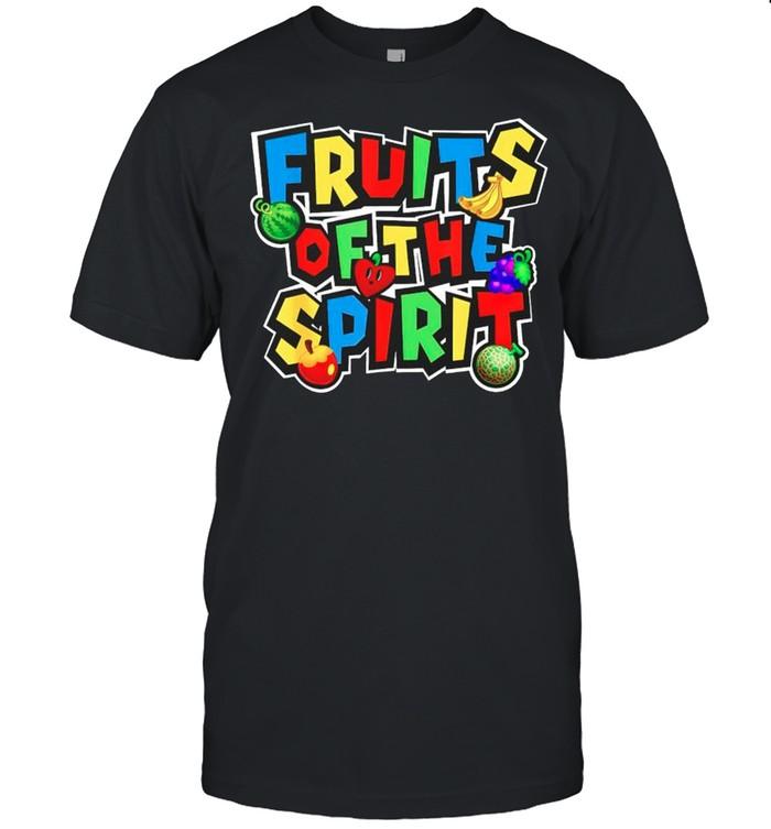 Mario fruits of the spirit shirt Classic Men's T-shirt