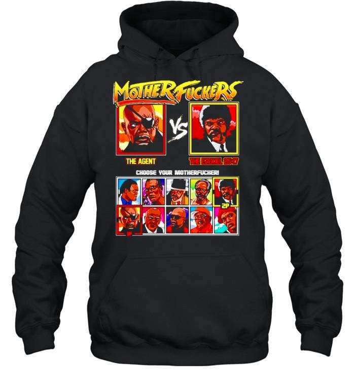Mother fuckers The Agent vs The Ezekiel shirt Unisex Hoodie