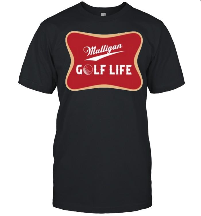 Mulligan golf life shirt Classic Men's T-shirt