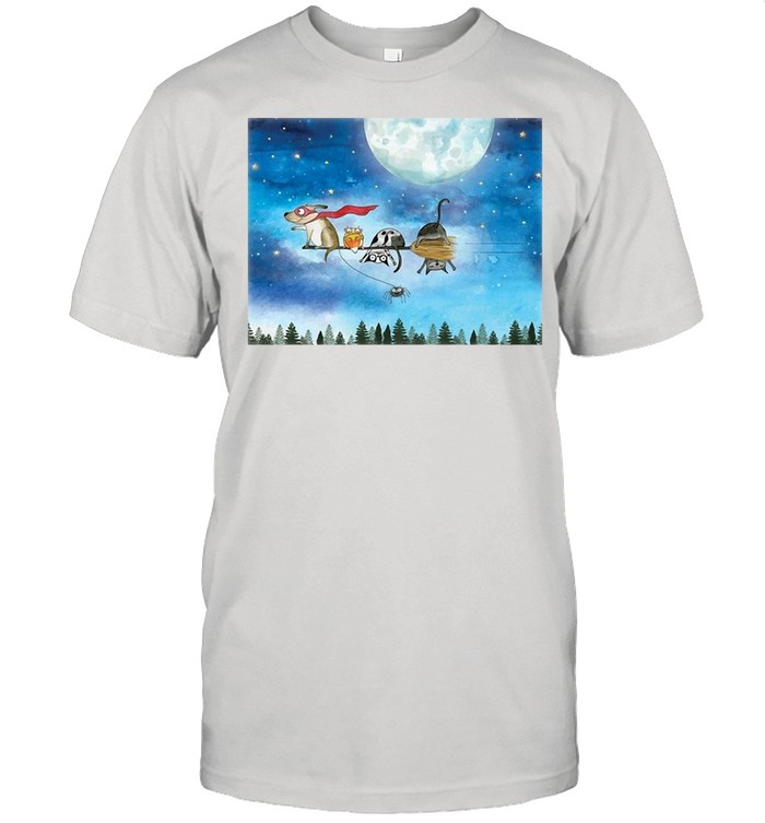 Broom Ride With Friends T-shirt Classic Men's T-shirt