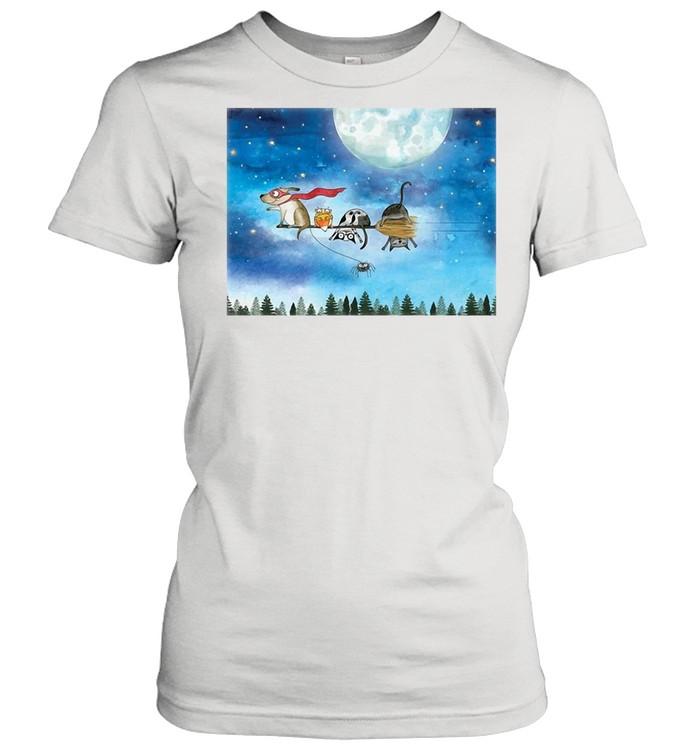 Broom Ride With Friends T-shirt Classic Women's T-shirt