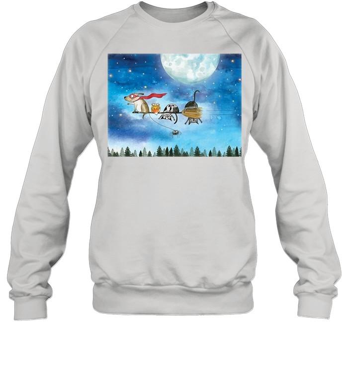 Broom Ride With Friends T-shirt Unisex Sweatshirt