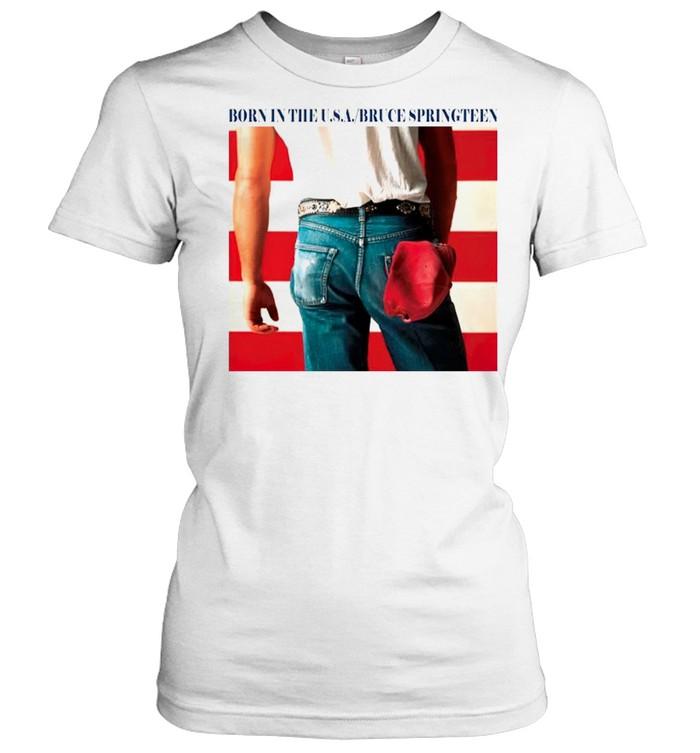 Born in the USA bruce springteen shirt Classic Women's T-shirt