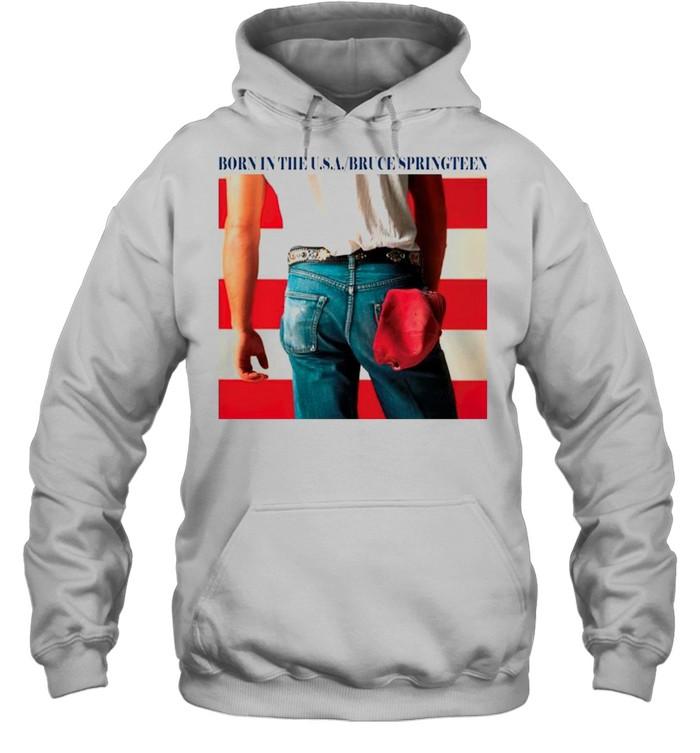 Born in the USA bruce springteen shirt Unisex Hoodie