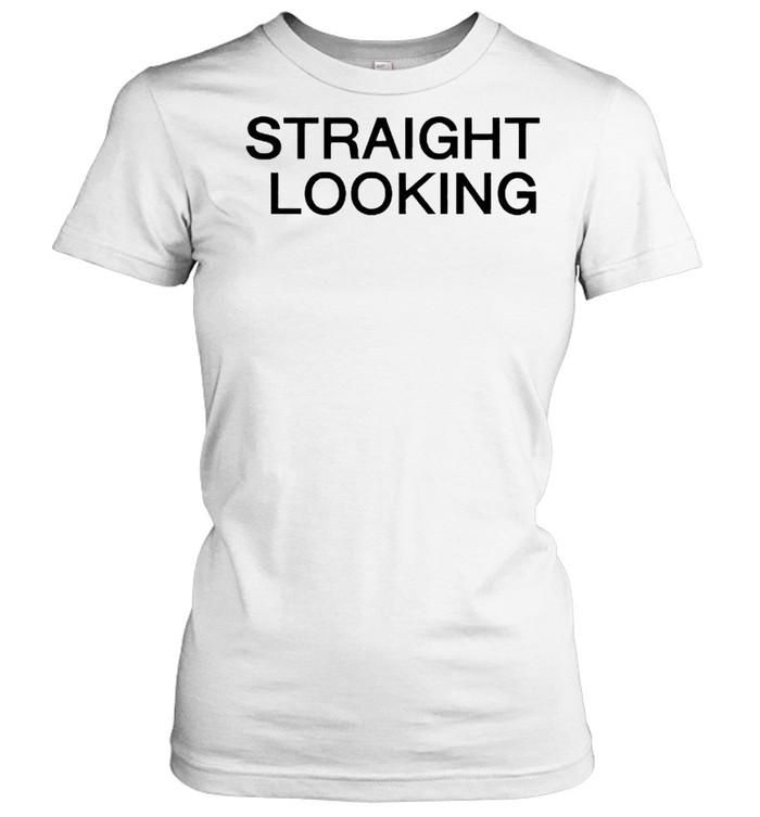 Straight Looking boss project shirt Classic Women's T-shirt