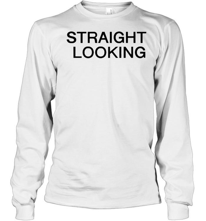 Straight Looking boss project shirt Long Sleeved T-shirt